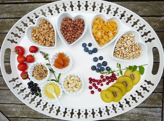 Dieta e menù settimanale per perdere 5 kg in un mese