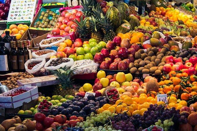 Dieta mediterranea da 1000-1200 calorie menù settimanale